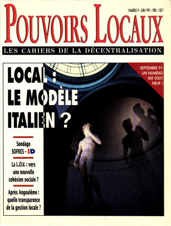 Local : le modèle italien